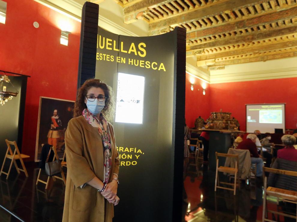"""Inauguración de la exposición """"Huellas de pestes y pandemias en Huesca: Iconografía, devoción y recuerdos"""""""