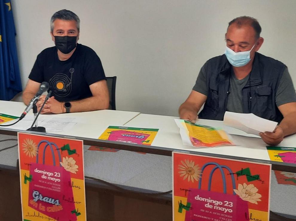 Julián del Castillo y César Sistac presentaron el evento