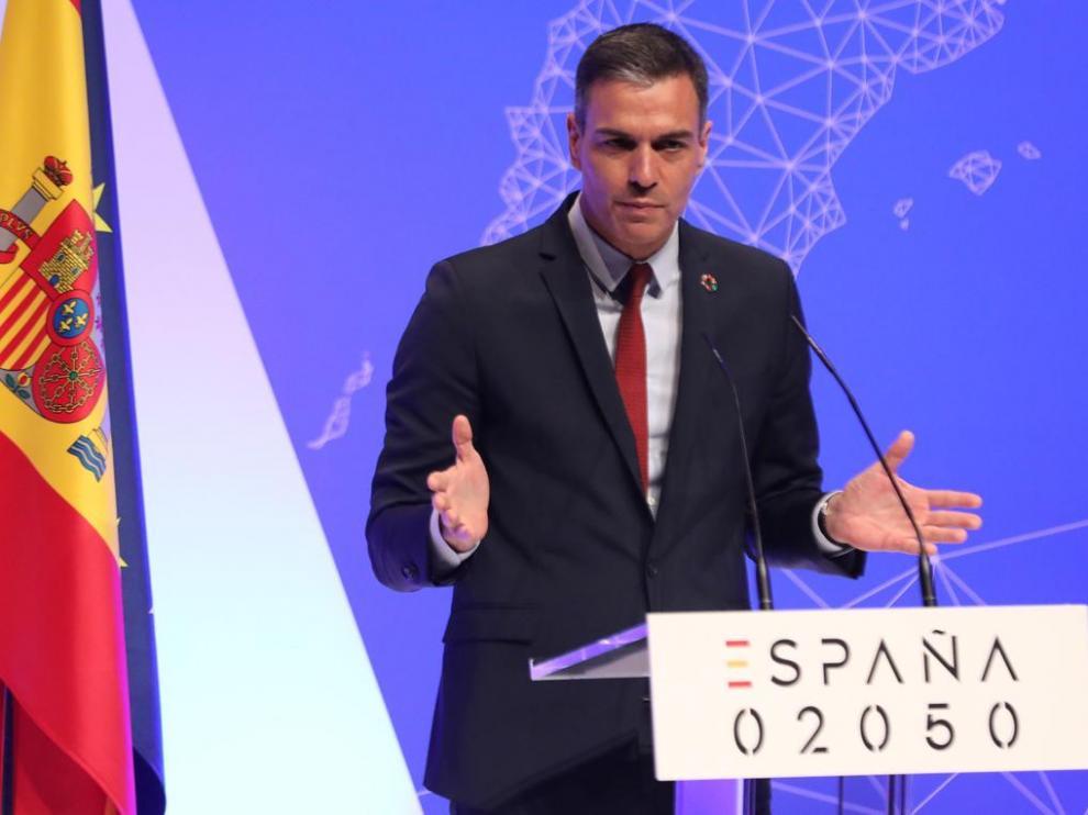 Sánchez presentó el proyecto en el Auditorio del Museo Nacional Reina Sofía de Madrid