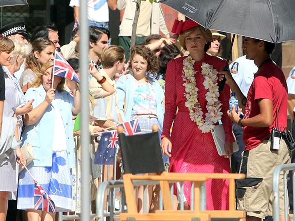 Imagen del rodaje de The Crown en tierras andaluzas