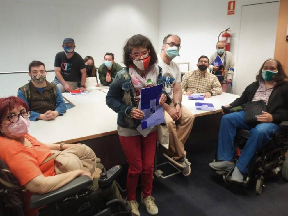 Equipo de reporteros de Cadis Huesca.
