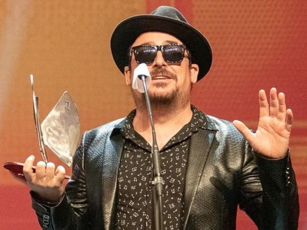 El año pasado, Cuti Vericad ya recogió dos Premios de la Música Aragonesa.