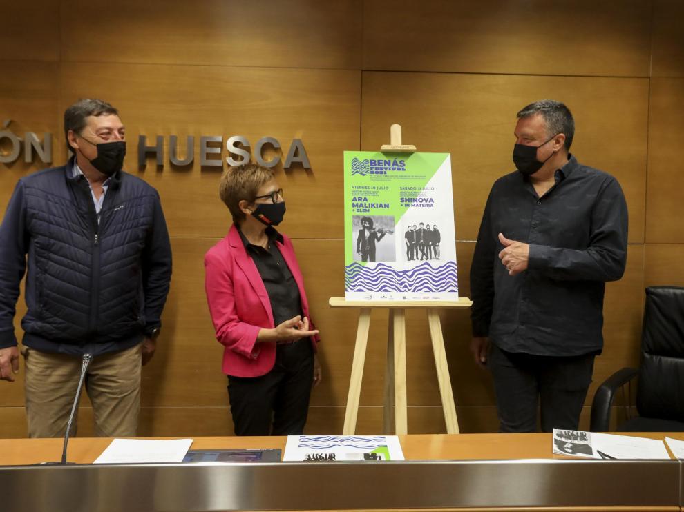 José Ignacio Abadías, Maribel de Pablo y Antonio Villanova han presentado el festival