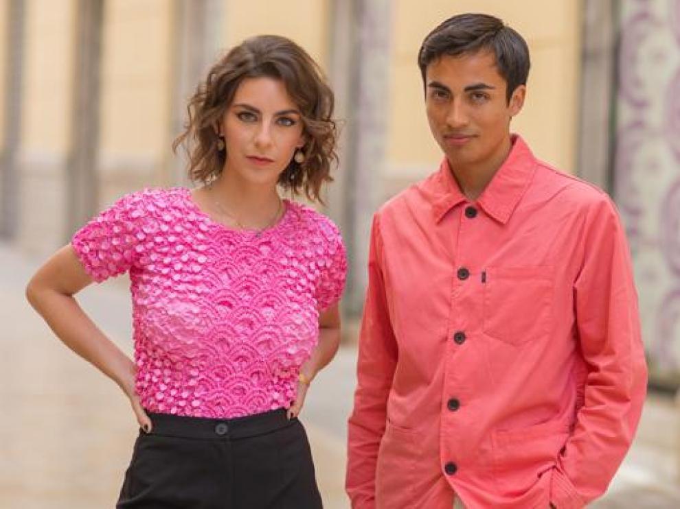 La guionista y actriz oscense Lucía Naval y el productor chileno Rodrigo Díaz presentaron el corto en el Festival de Málaga.