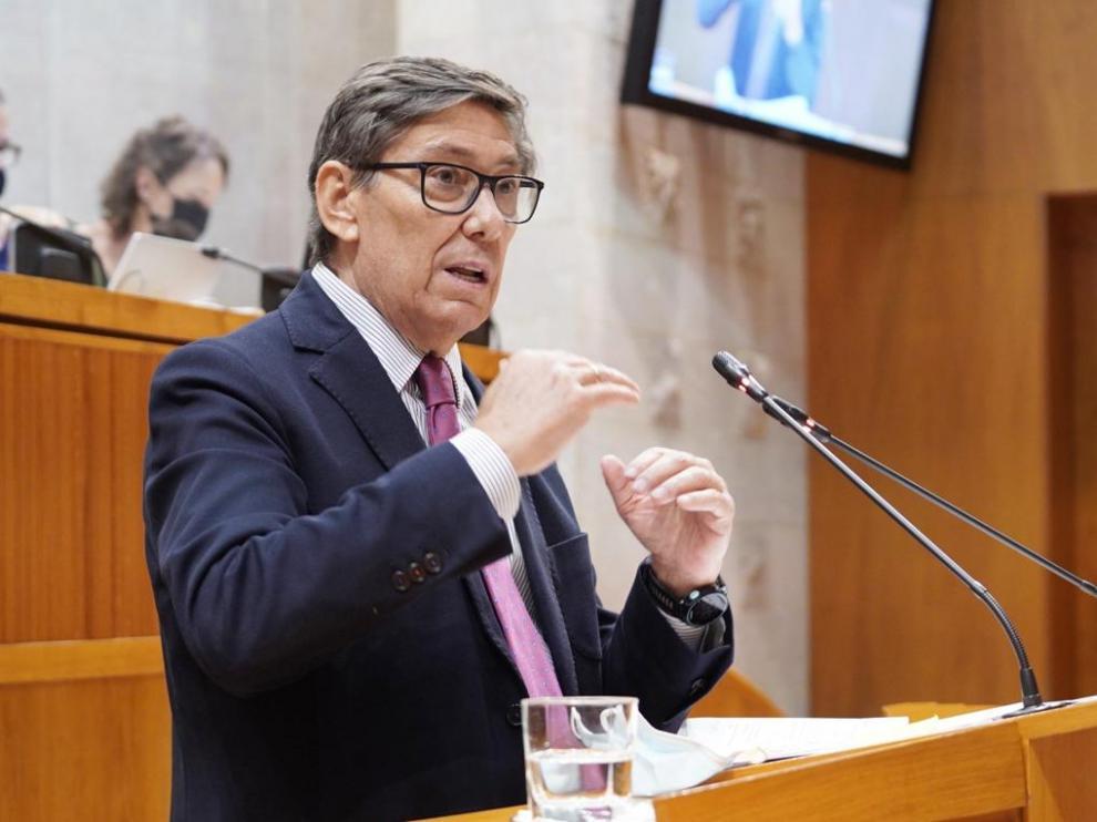 Arturo Aliaga, vicepresidente de Aragón y consejero de Industria