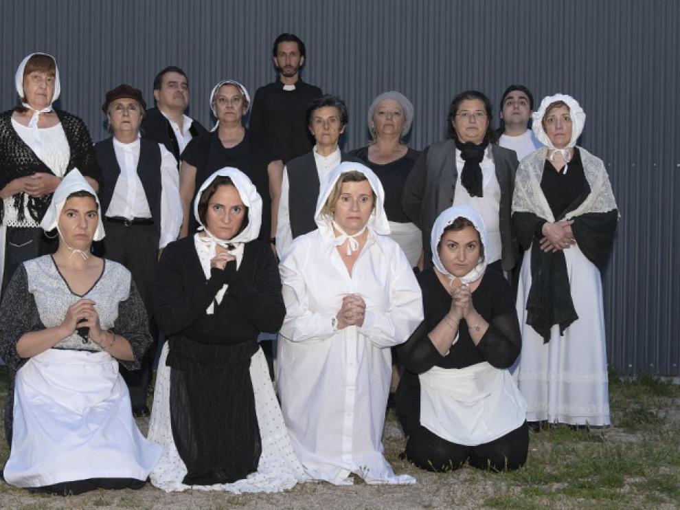 El grupo Alboroque es uno de los más veteranos de los talleres municipales.