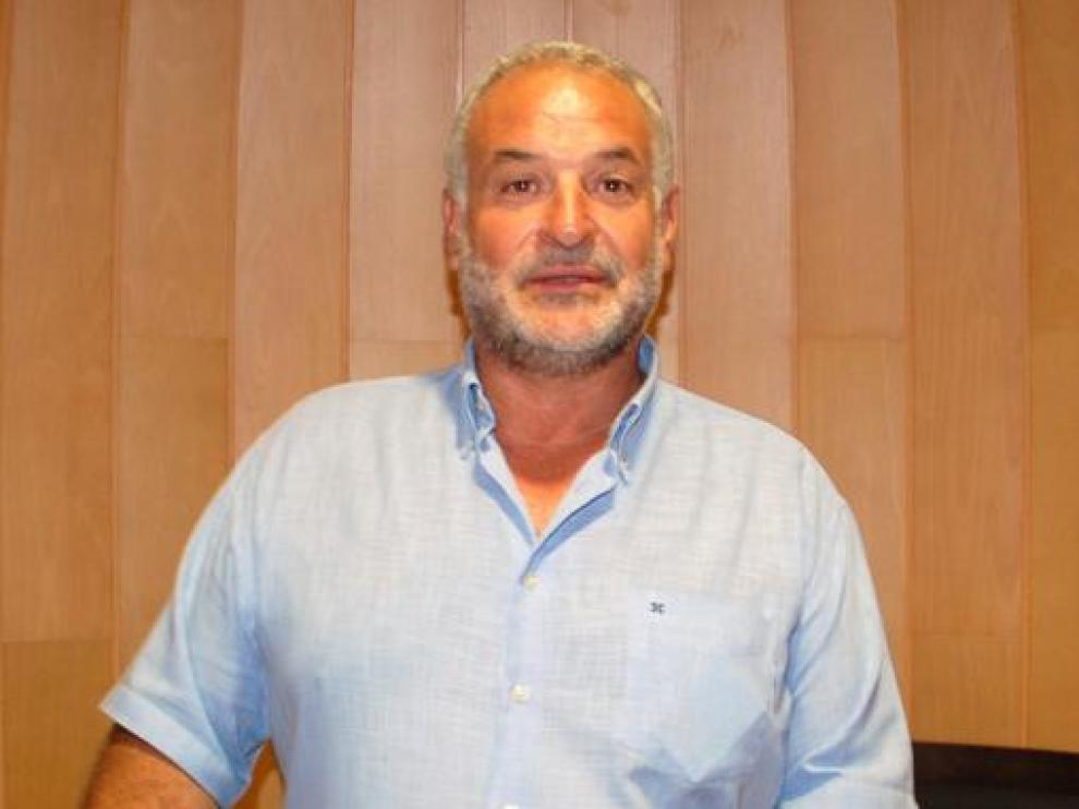 Armando Sanjuan, alcalde de San Lorenzo del Flumen.