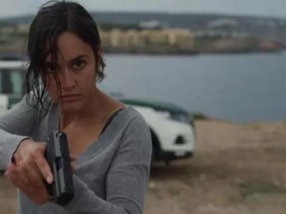 Megan Montaner está nominada al Iris por su interpretación de la sargento Campos.