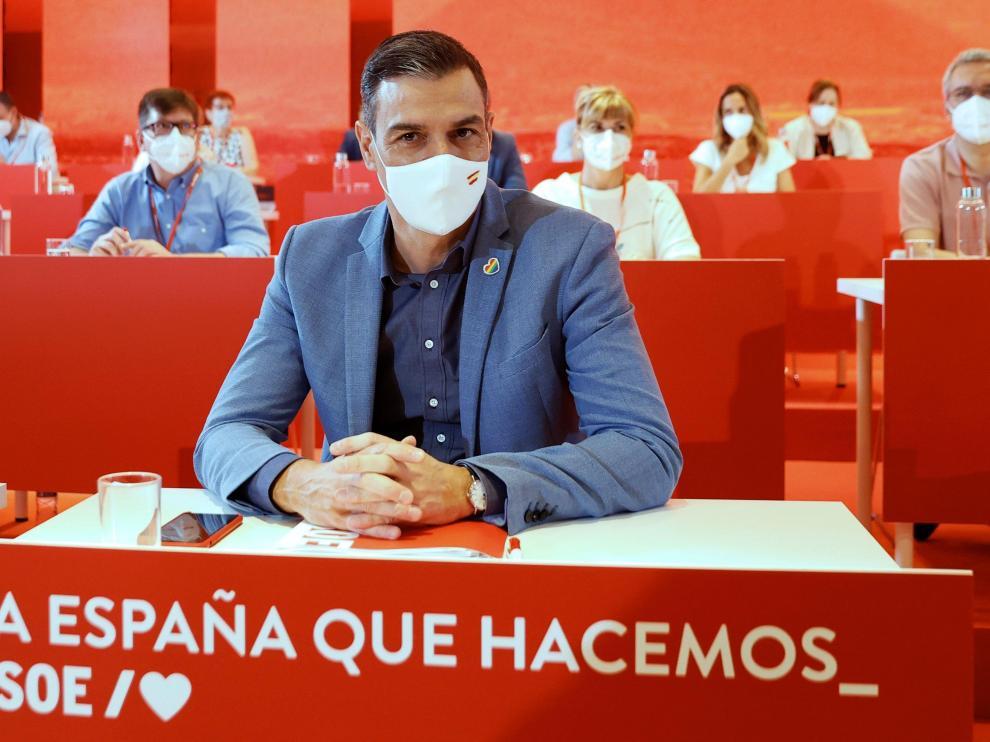 Sánchez, este sábado en el Comité Federal de su partido