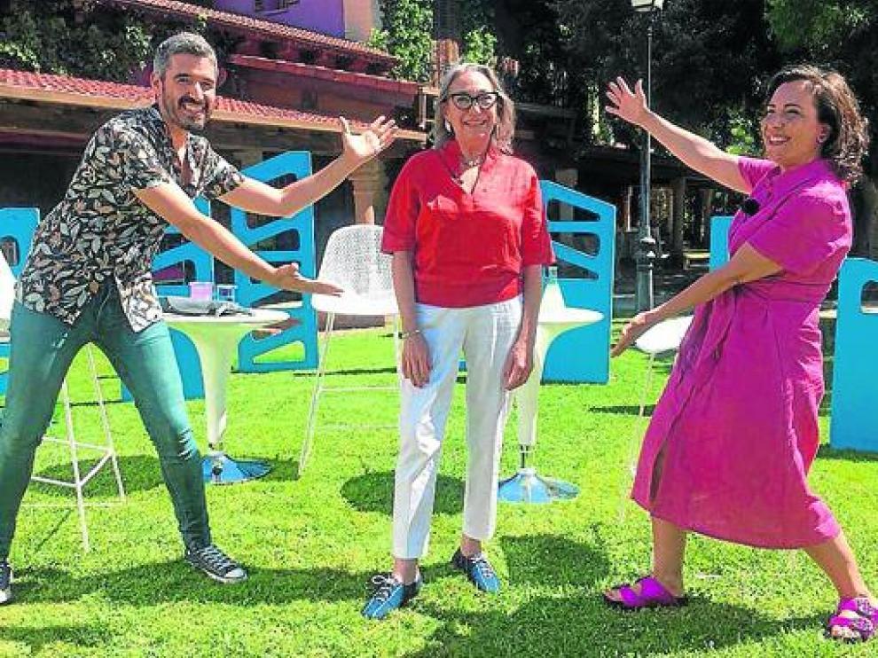 Luisa Gavasa será la primera invitada de Guillermo Orduna y Concha Aldea en Agujero de gusano.
