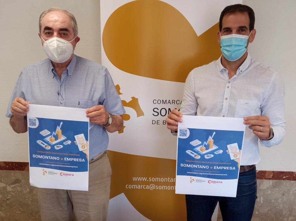 Manuel Rodríguez y Daniel Gracia en la presentación del programa