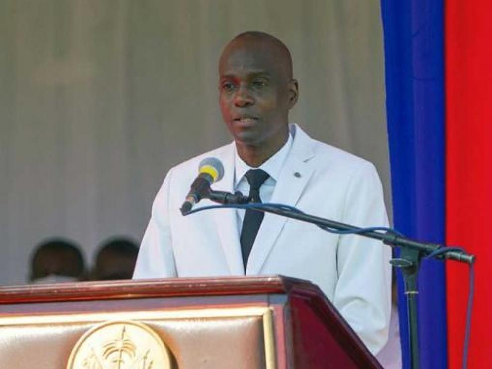 El presidente haitiano, Jovenel Moise, en una imagen de archivo.