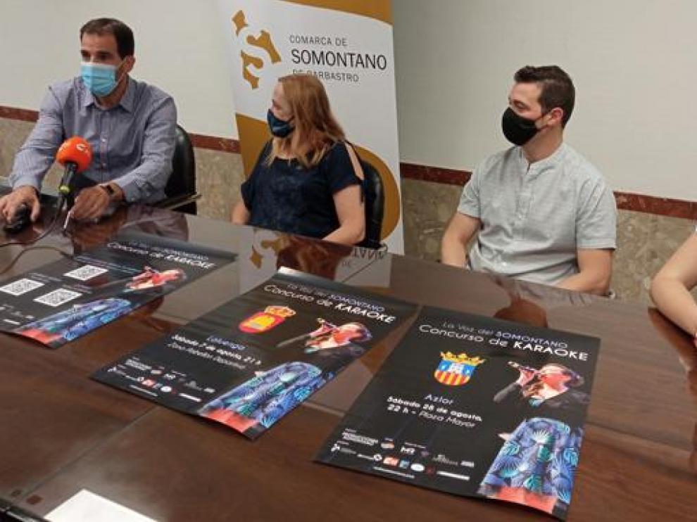Imagen de la presentación del concurso