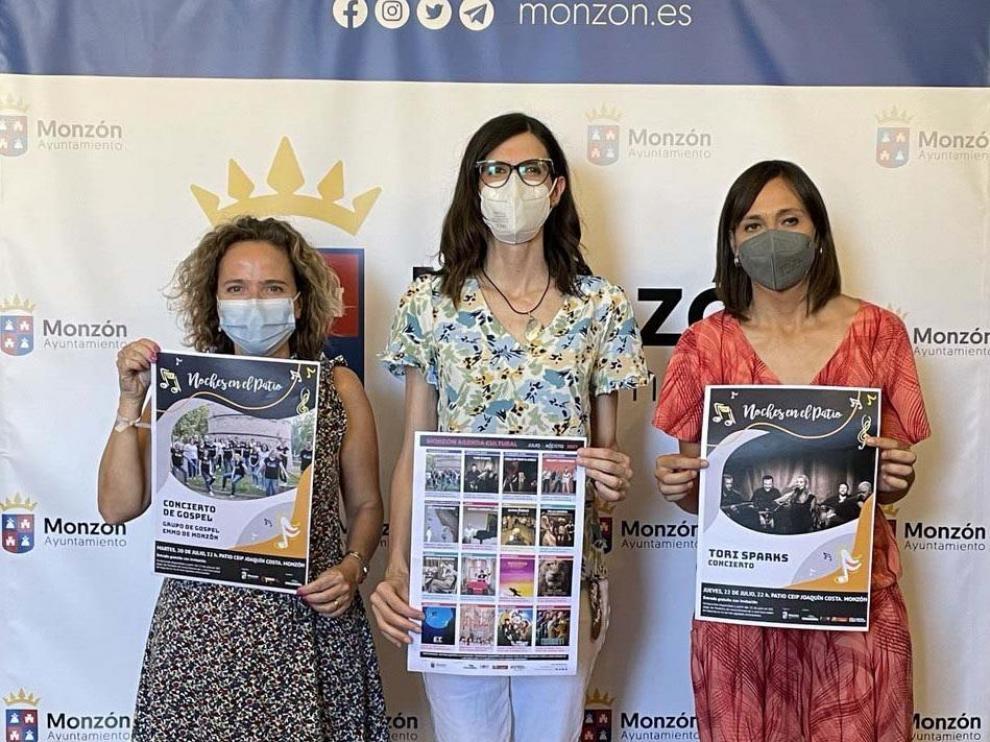 Presentación Programa Cultural Monzón verano 2021