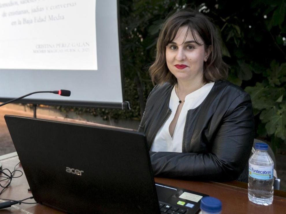 Cristina Pérez Galán ofreció una conferencia sobre mujeres sabias medievales.