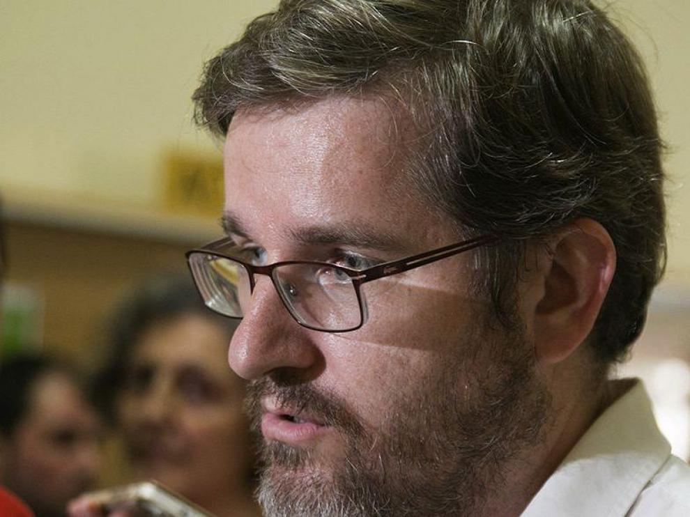 Ignacio Urquizu, portavoz socialista de Eduación en la Cortes