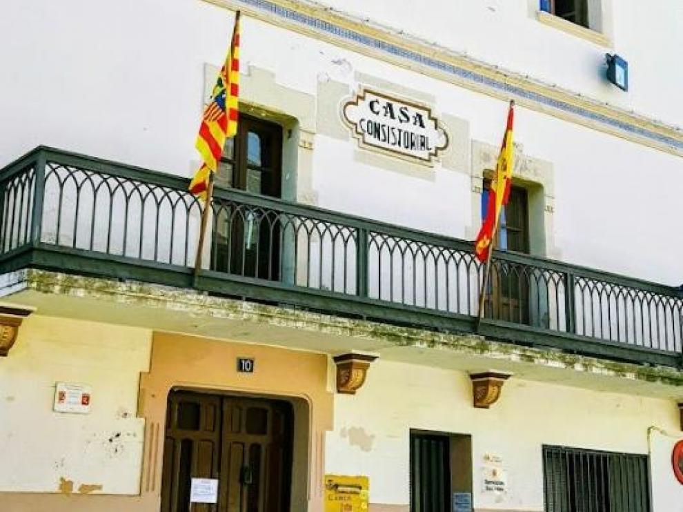 Ayuntamiento de Luna, en Zaragoza