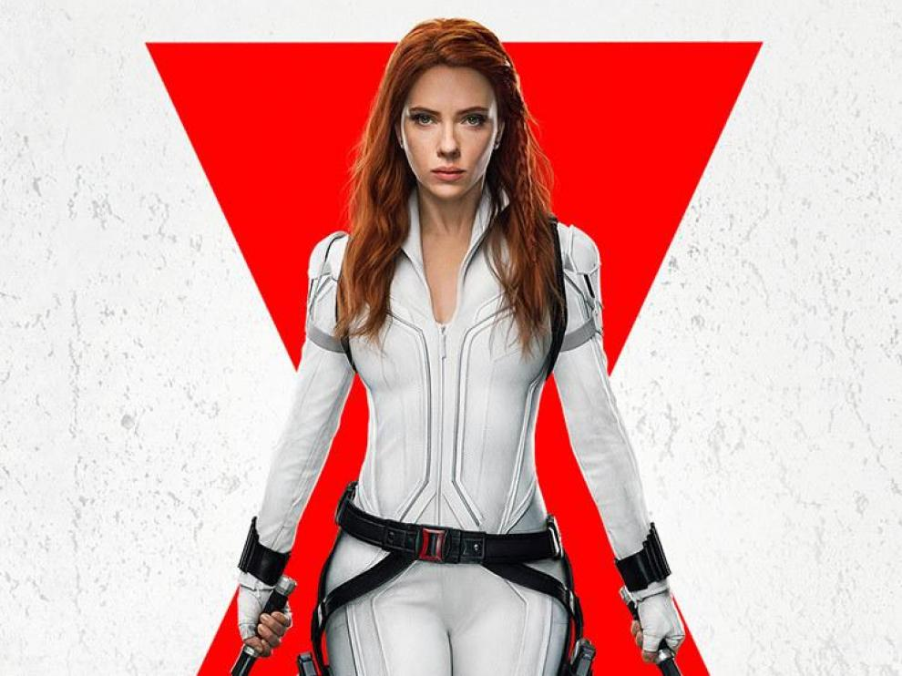 Scarlett Johansson, en una foto promocional de 'Viuda Negra'.