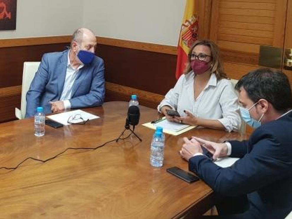 El Consejo Local ampliado durante la reunión telemática de este lunes
