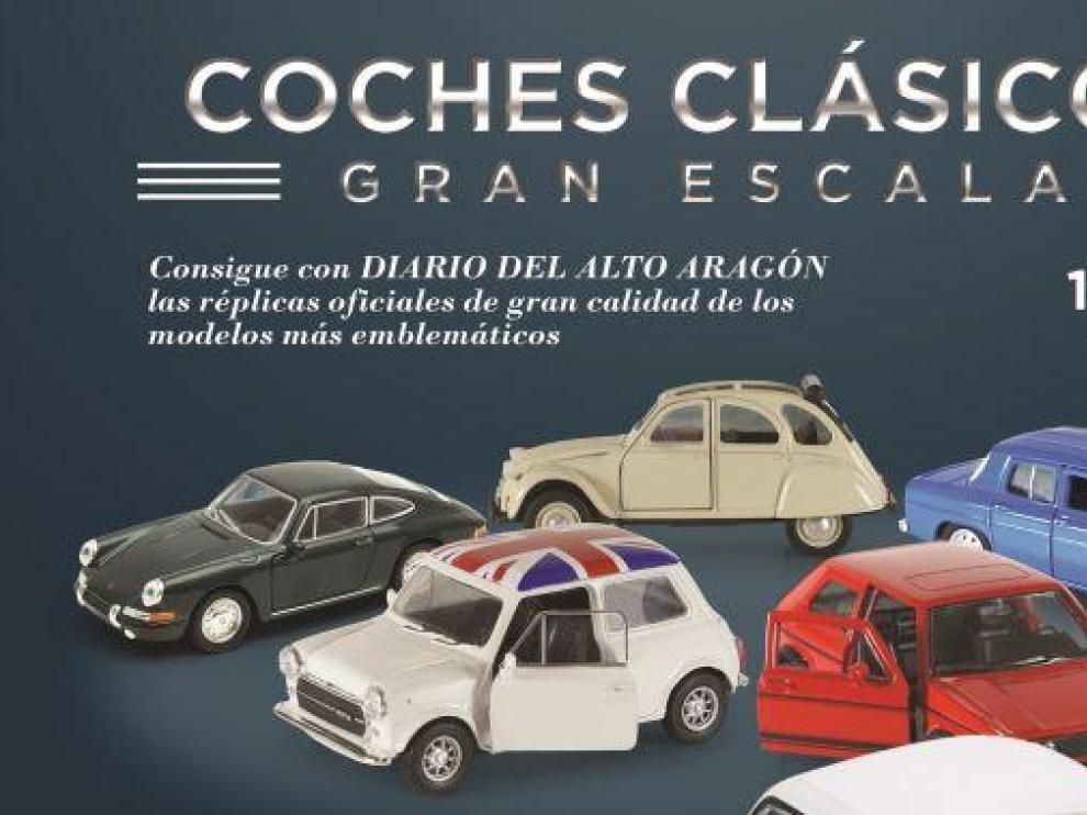 Últimas entregas de coches clásicos a escala