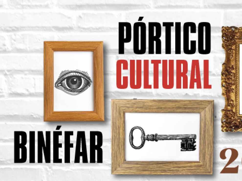 Pórtico Cultural 2021 en Binéfar