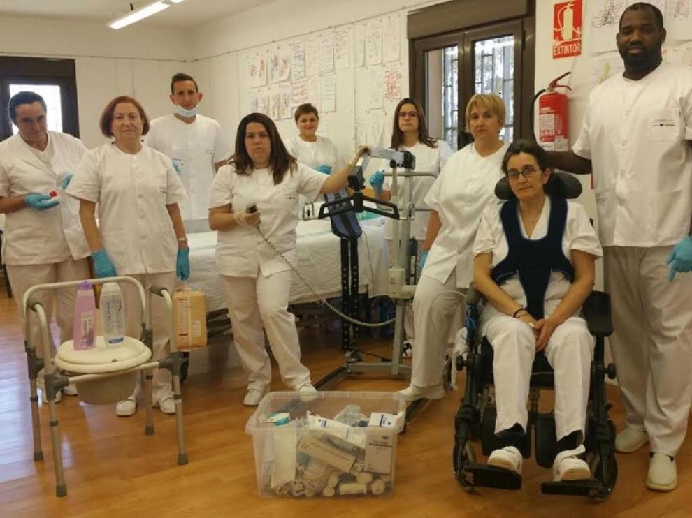 Participantes en una edición anterior del taller de empleo Alere.