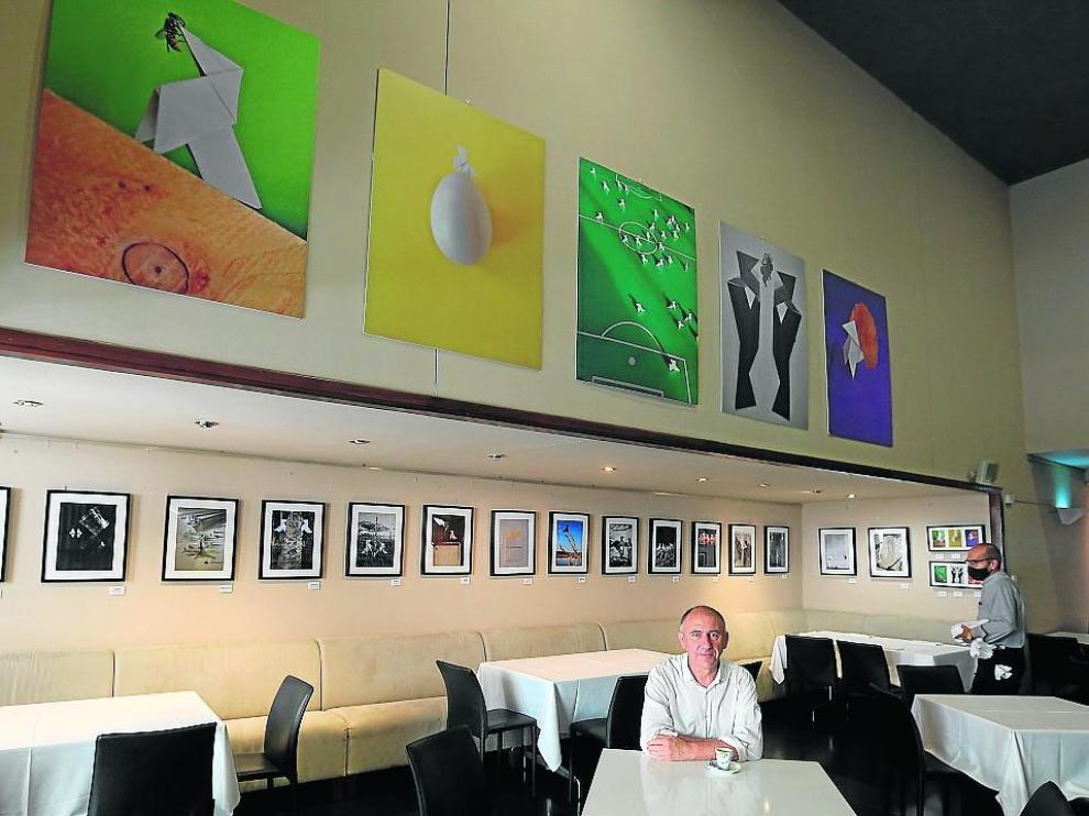 La exposición 'Amor y cocotografía' se puede visitar desde julio en el restaurante Flor.