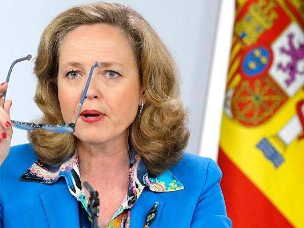 La ministra de Economía Nadia Calviño