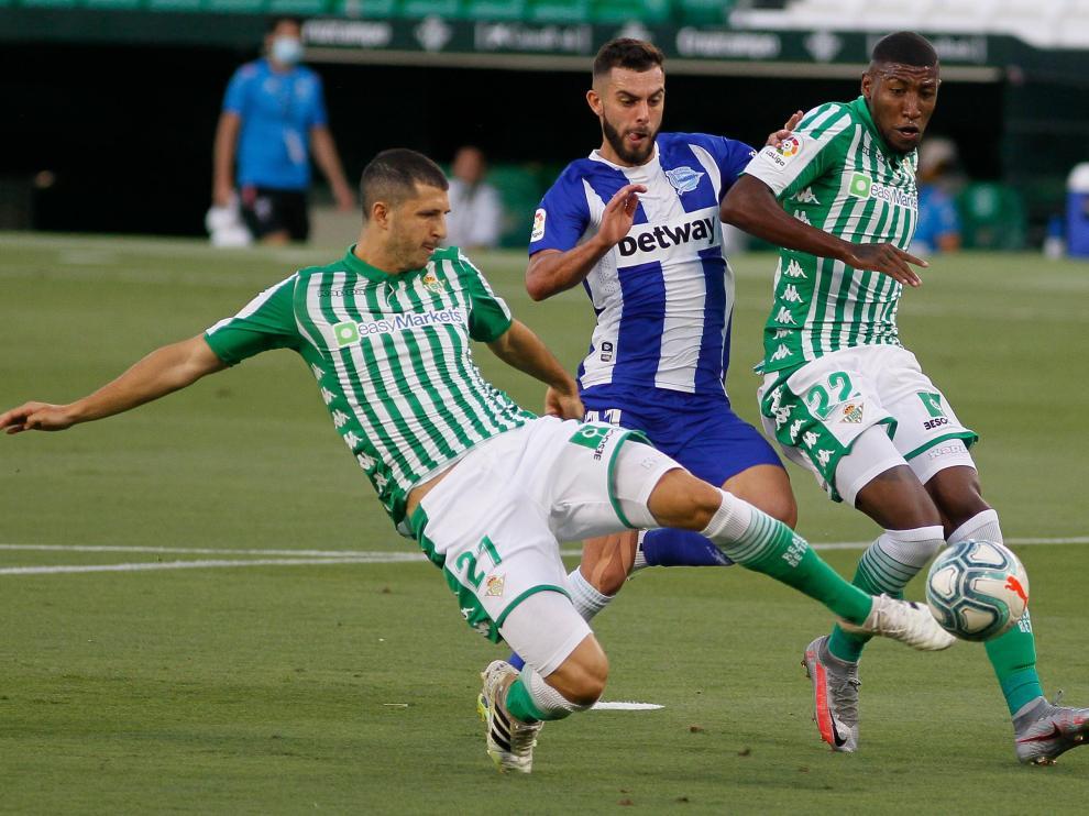 Guido Rodríguez (Betis) es uno de los varios futbolistas de LaLiga afectados por la decisión de la Conmebol.