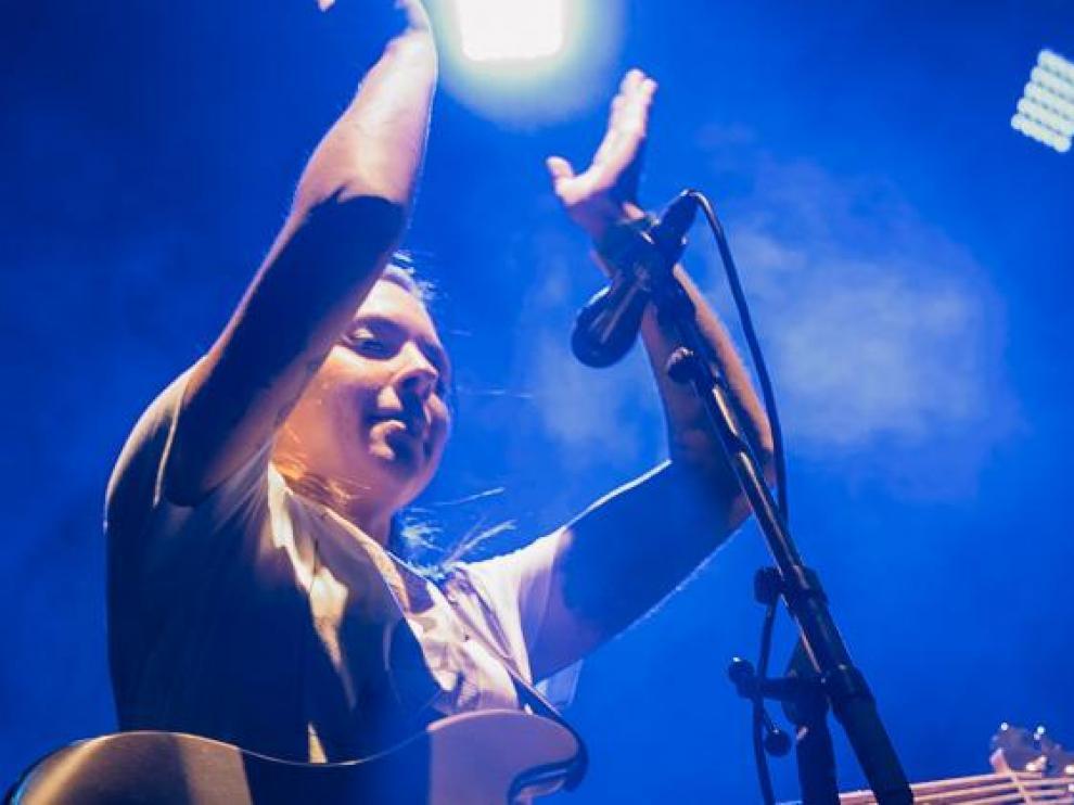 Imagen de la actuación de la banda madrileña La La Love You.