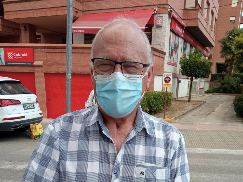 Leonardo Subías pasó 158 días en la uci del Hospital de Barbastro
