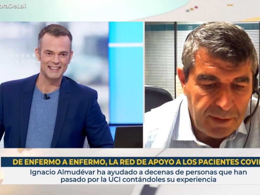 Ignacio Almudévar, en el programa de RTVE que se ha emitido este viernes.