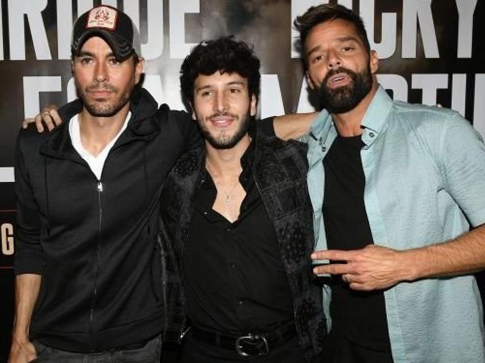 Enrique Iglesias, Sebastián Yatra y Ricky Martin están a punto de iniciar una gira por América.