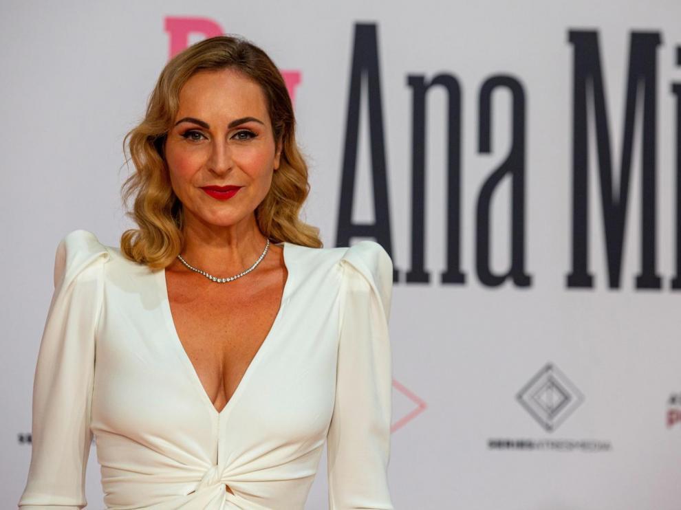 Ana Milán, en la presentación de su serie en el FesTVal de Vitoria