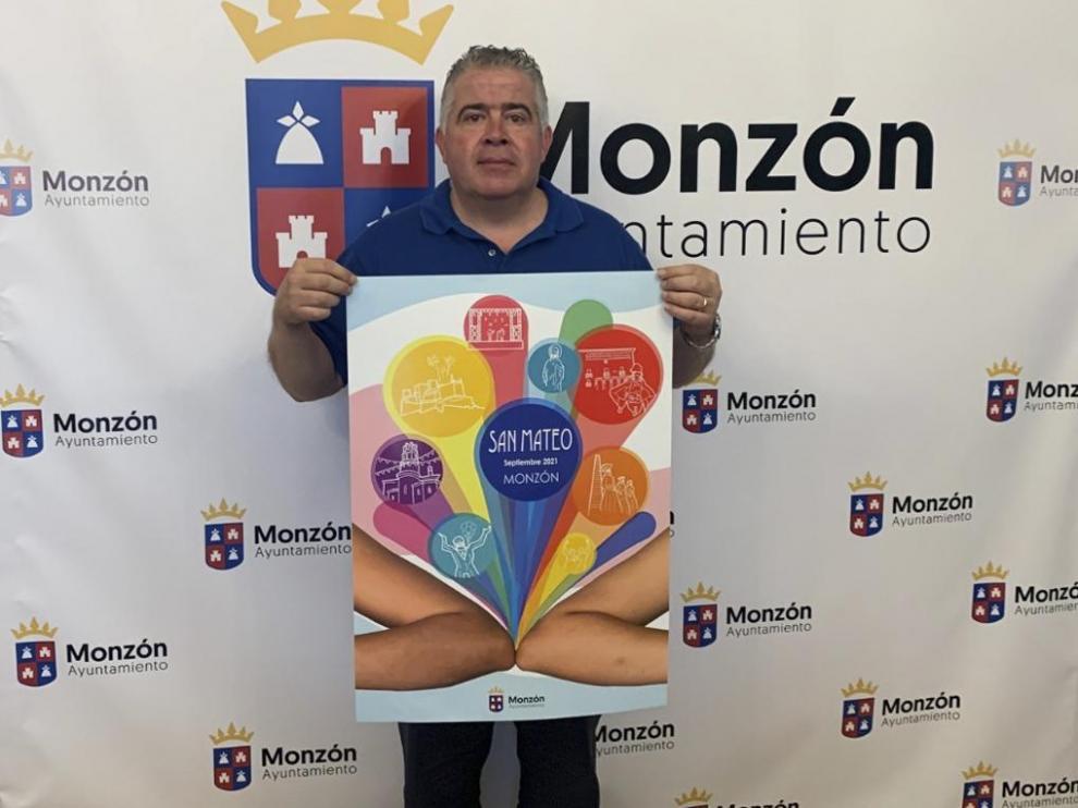 """Presentación del cartel de las """"No Fiestas de Monzón""""."""