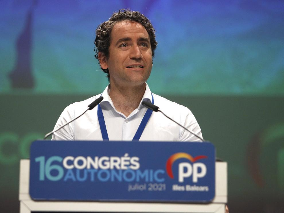 Imagen de archivo de García Egea durante el XVI Congreso del PP de Baleares.