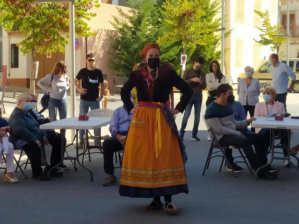 La Agrupación Folklórica Santa Cecilia actuó en la cita.