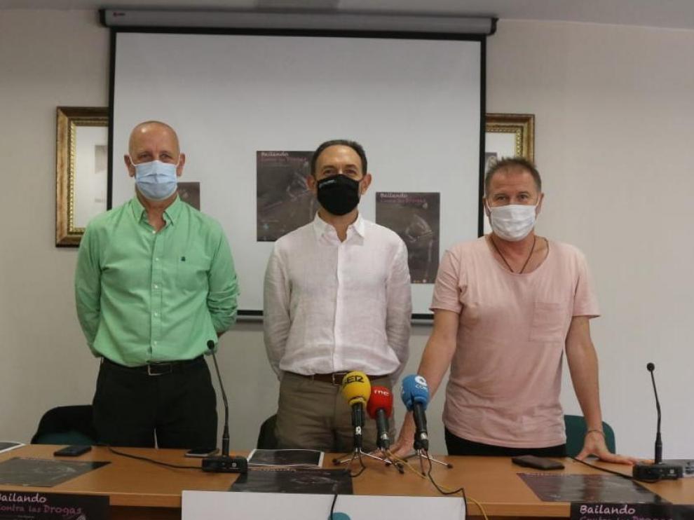 José Jarne, Felipe Munuera y José Espinosa, ayer en la presentación.