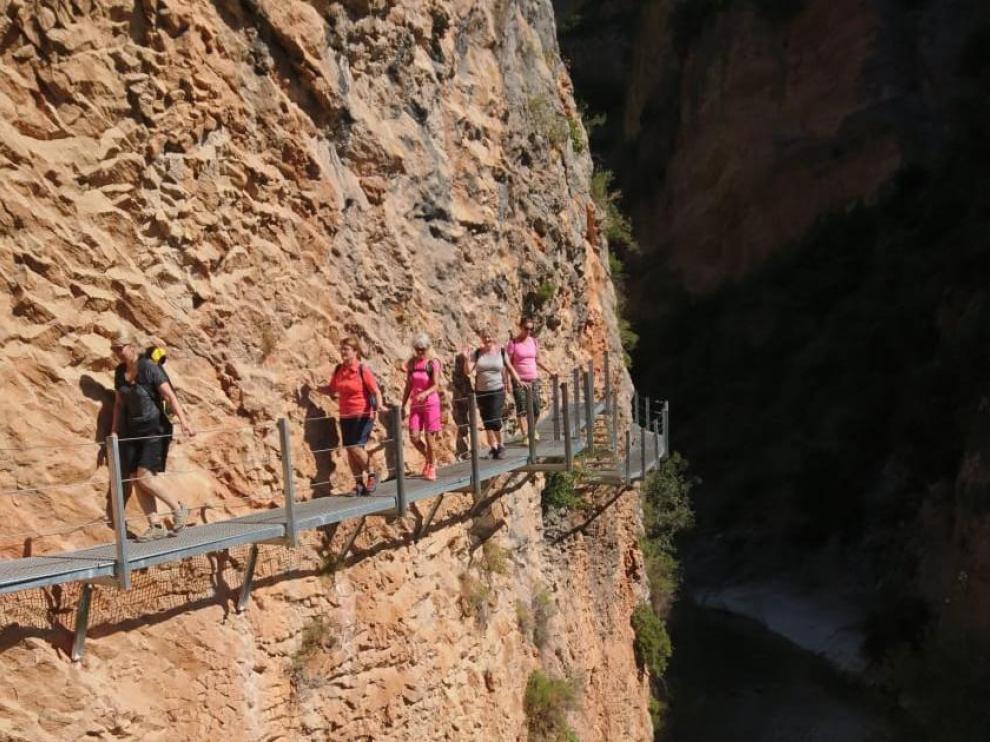 Seis tour operadores noruegos conocen el potencial del turismo de naturaleza y aventura aragonés