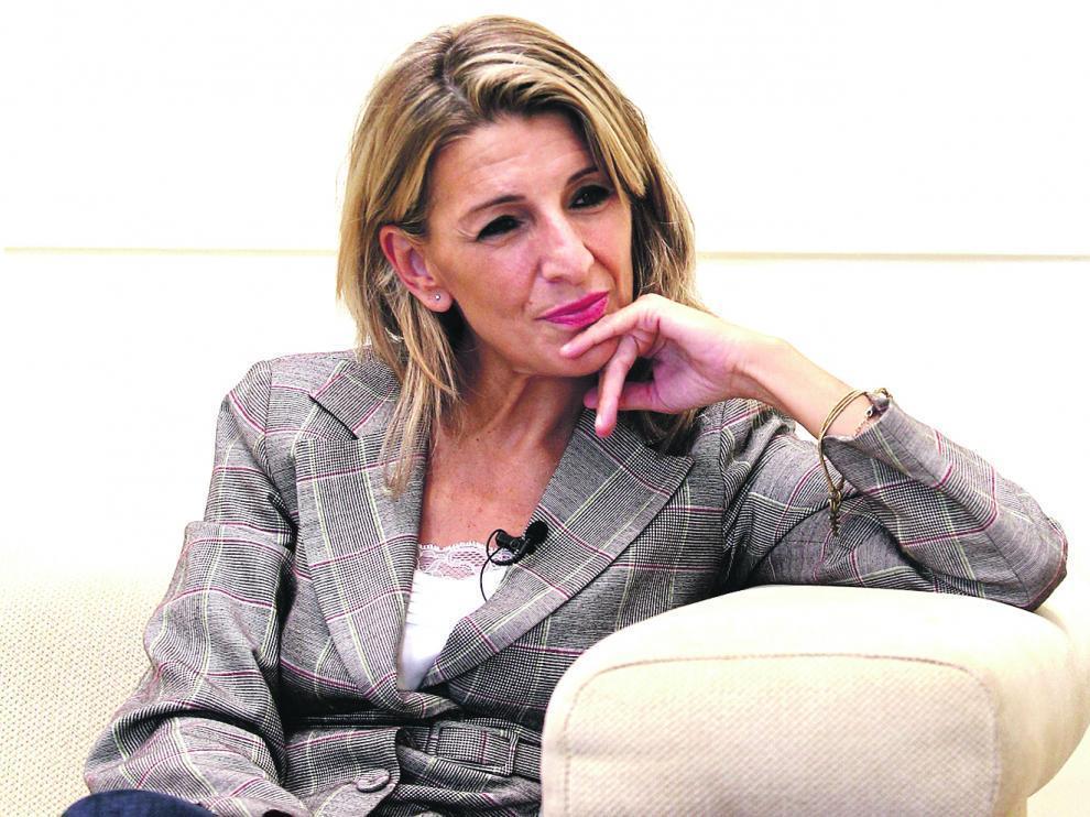 Yolanda Díaz, vicepresidenta del Gobierno.