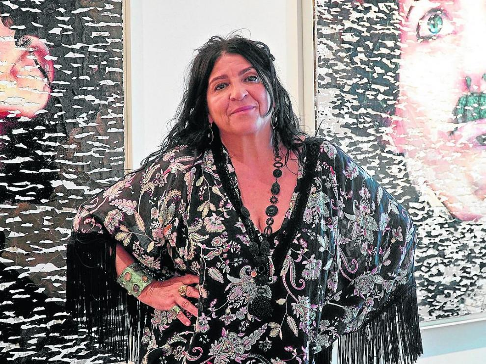Lita Cabellut juega con la intensidad de las emociones y la belleza