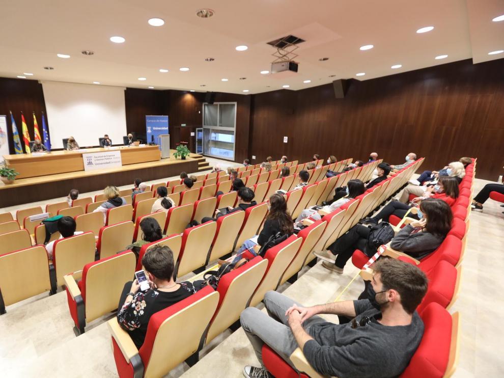 Acto de apertura del máster en Dirección y Planificación del Turismo.