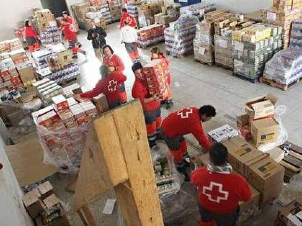 Los alimentos recibidos serán repartidos en el mes de octubre entre un total de 448 familias.