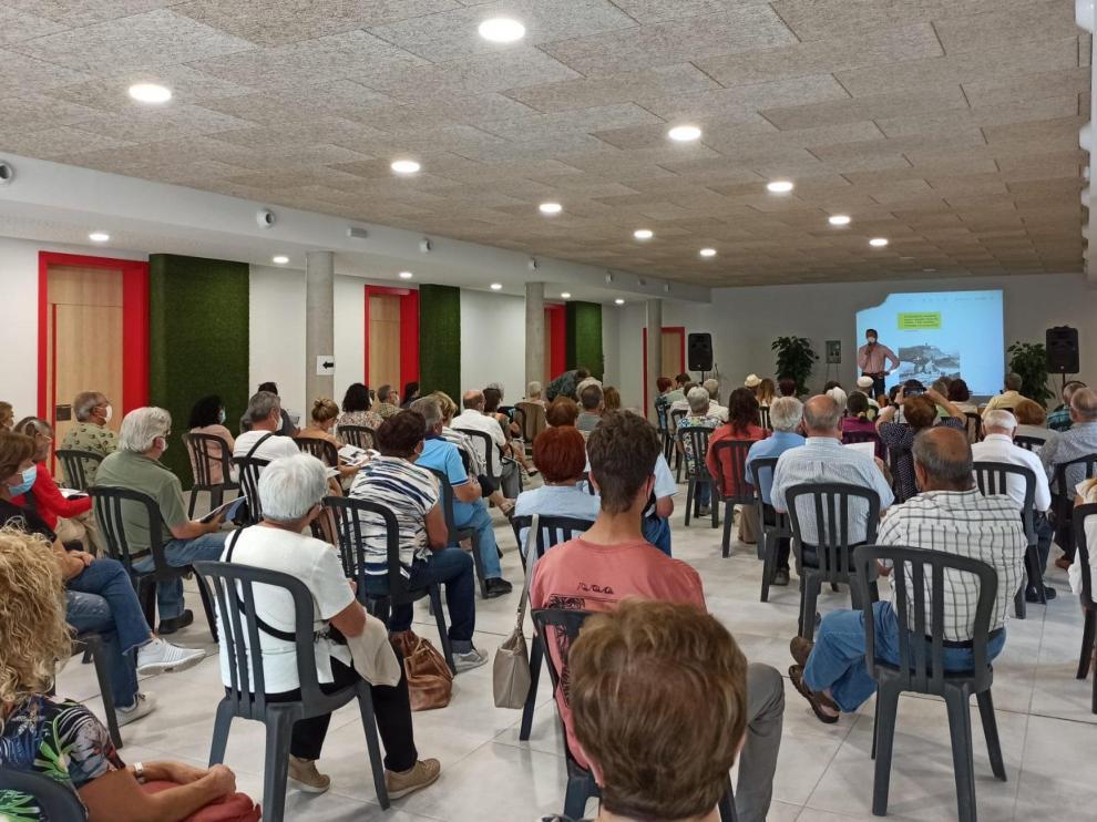 Presentación de la revista en el Centro Cultural de Aínsa.