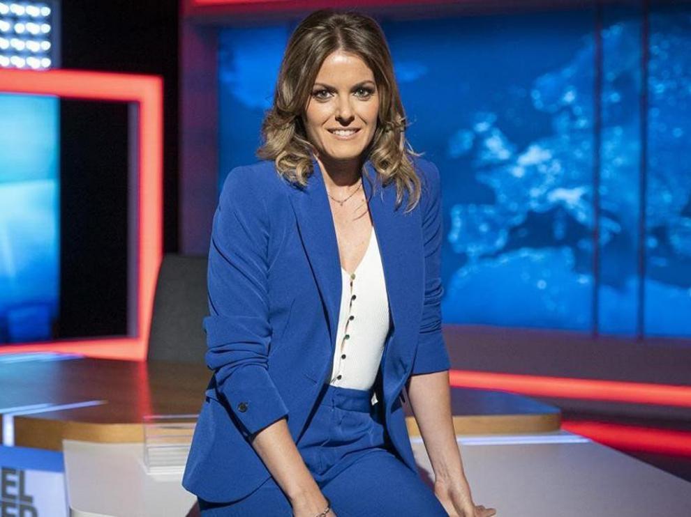 Andrea Ropero trabaja como reportera de 'El Intermedio' desde 2019.