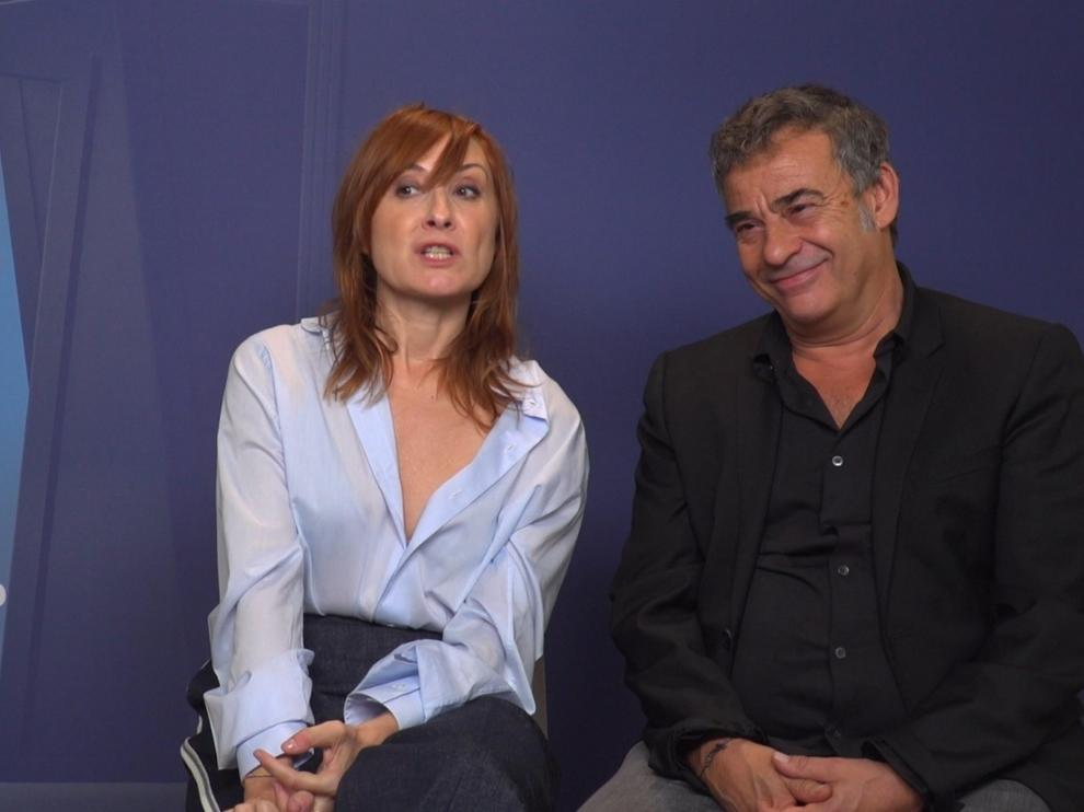 Nathalie Poza y Eduard Fernández protagonizan uno de los capítulos.