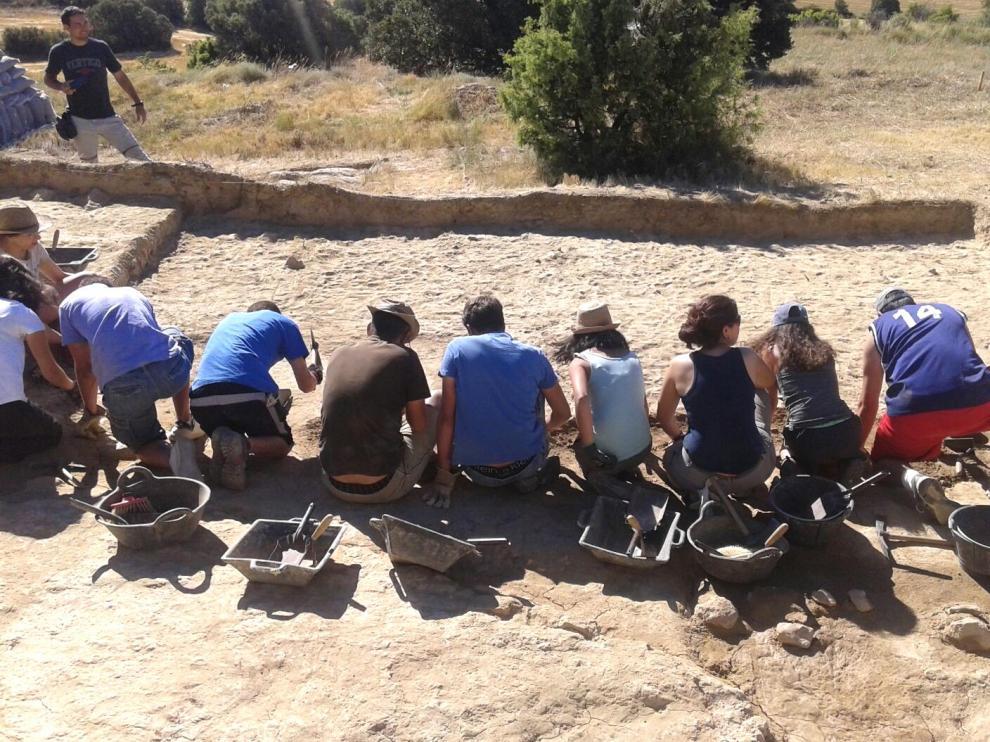 El yacimiento de Marcuello inicia este lunes su 8ª campaña de excavaciones