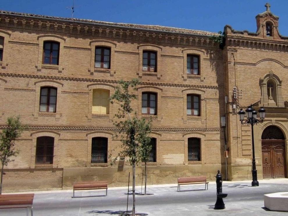 Corte de agua este miércoles en la plaza de la Universidad de Huesca