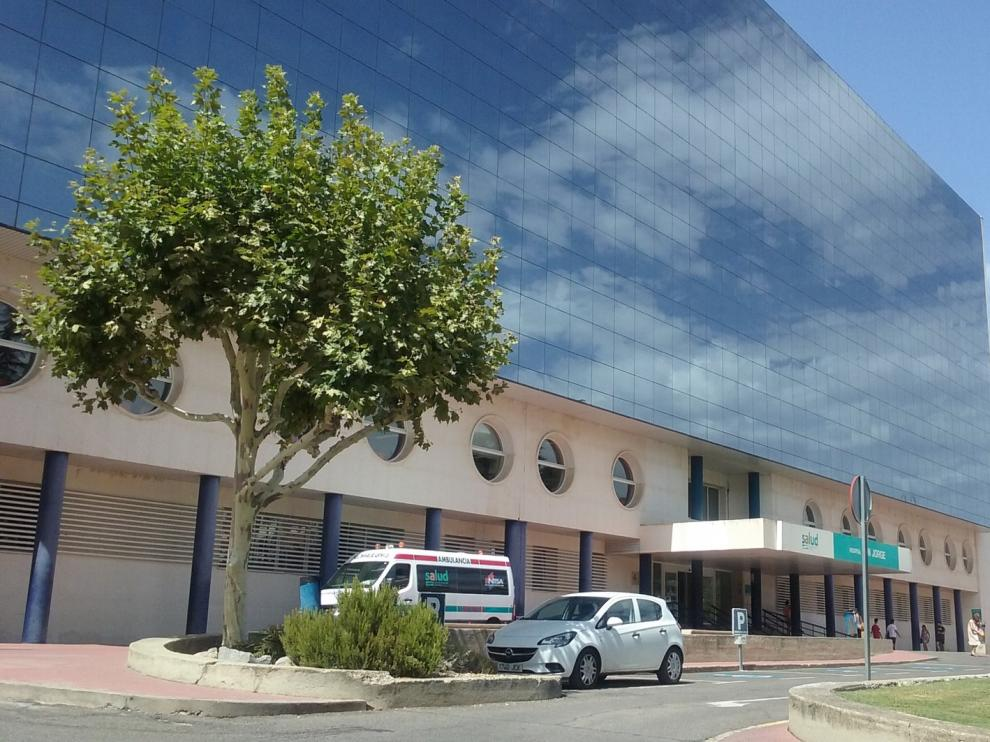 Las obras para instalar la resonancia en Hospital San Jorge de Huesca, a final de mes