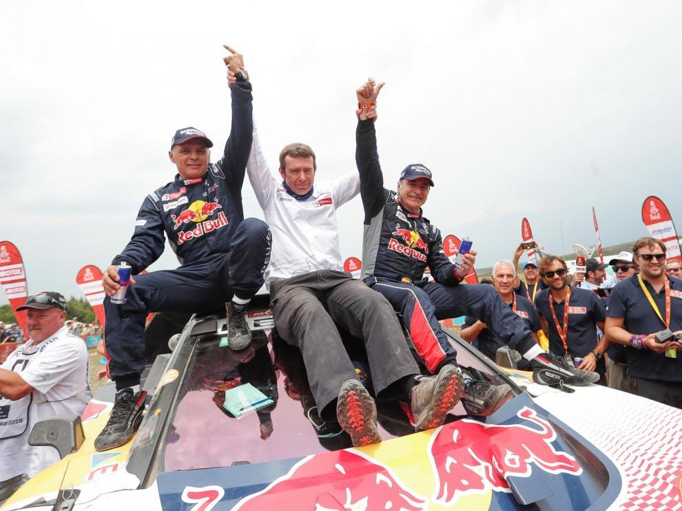 El piloto Carlos Sainz gana el Premio Princesa de los Deportes